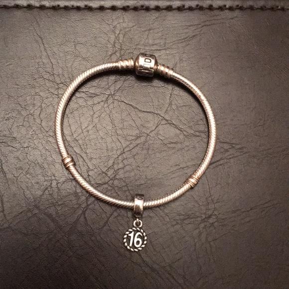 "8fa92a5b2 Pandora Jewelry - Pandora Sweet 16 Bracelet - 7.1"""